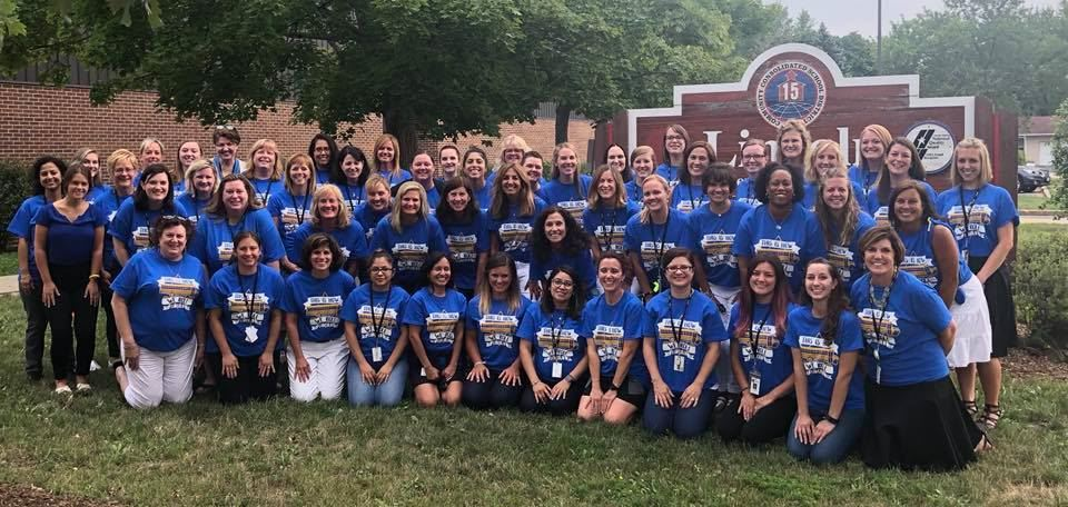 Lincoln Staff Ready to SOAR into the 19-20 School Year!