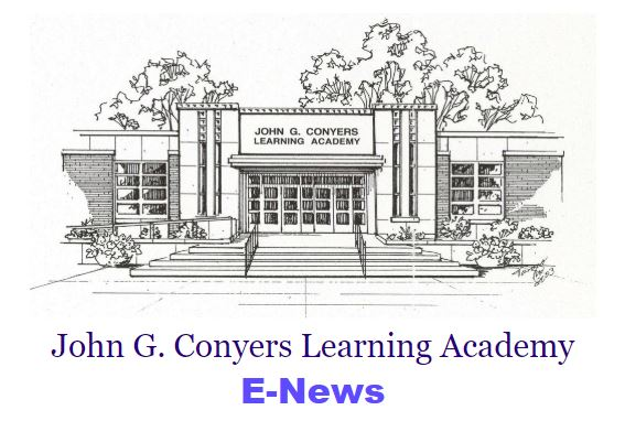 John G. Conyers Learning Academy Newsletter