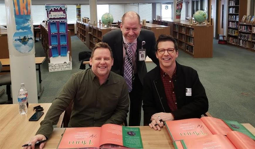 Book Author Sean Hayes visit today!