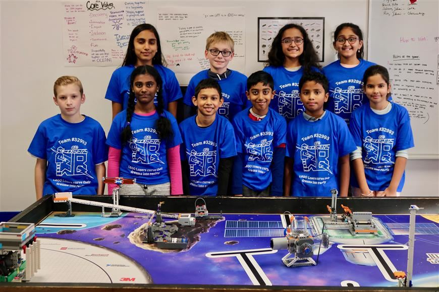 Willow Bend FIRST Lego League prepares for competition