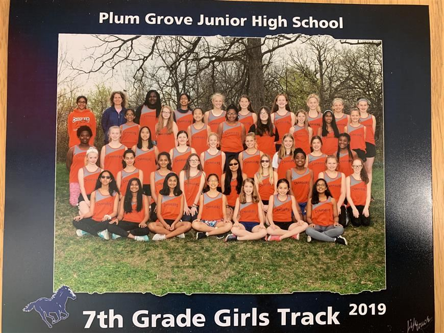 PGJH 7th Grade Girls Track