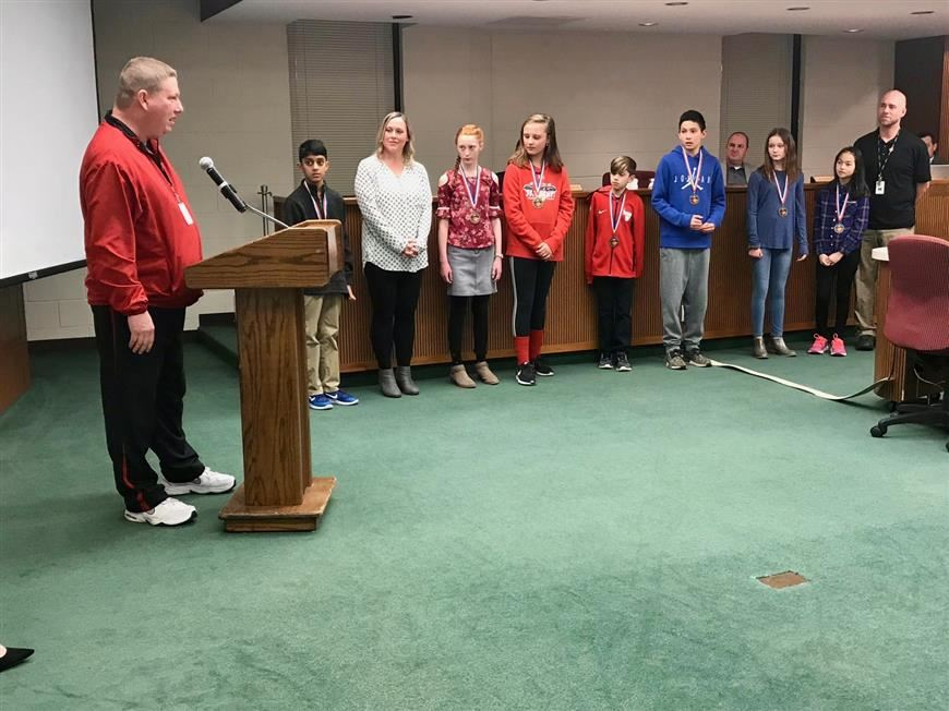 Two-Ball winners at BOE meeting