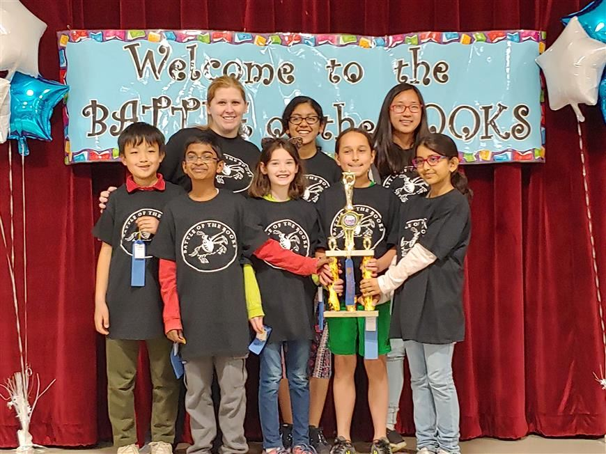 2018-2019 Battle of the Books Winners: CENTRAL ROAD SCHOOL