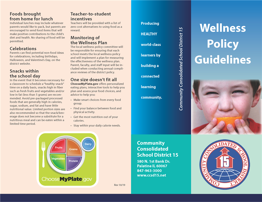 Wellness Policy Guidelines