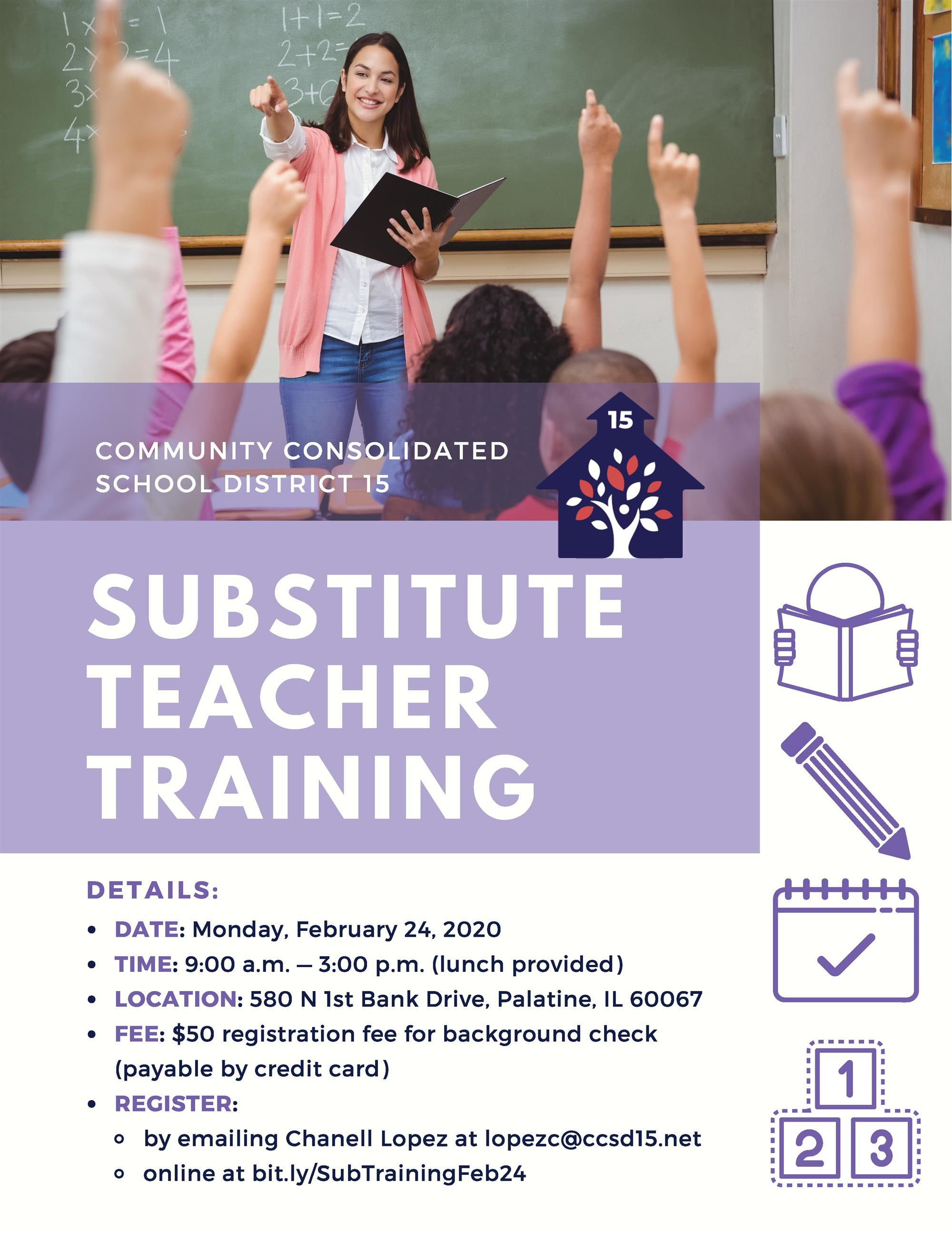 Sub Teacher Training