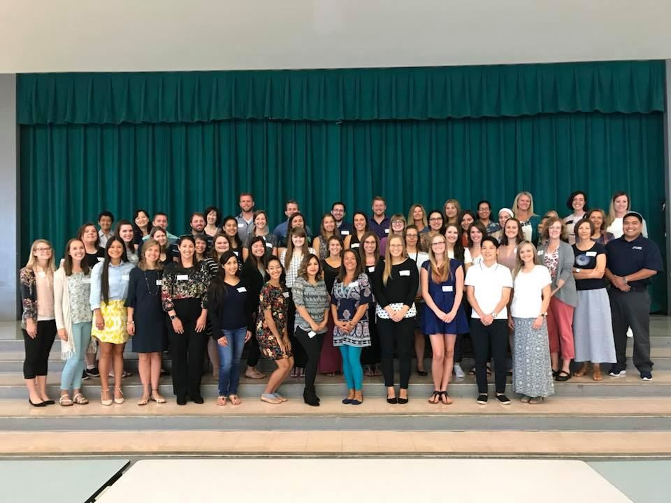 District 15 welcomes 65 new teachers